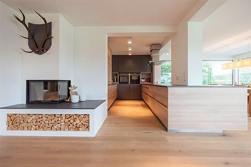 Gesamtkonzept FSS Küche Pinterest Bungalow, Living rooms and - küchen aus altholz