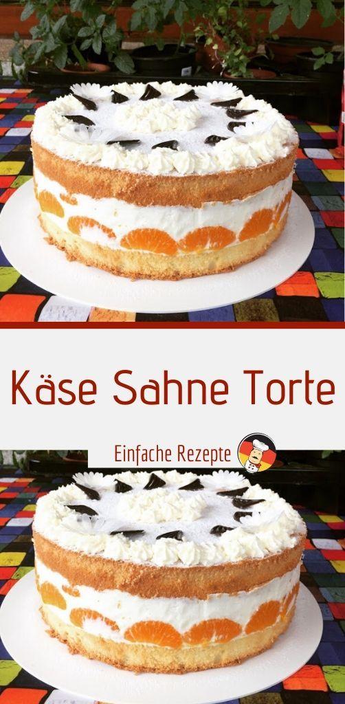 Käse Sahne Torte | Sprainnews #tortegeburtstag