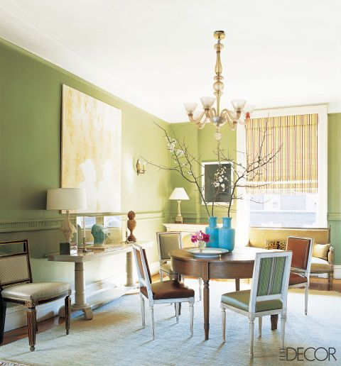 13 Green Rooms With Serious Designer Style | Green walls, Decorating ...