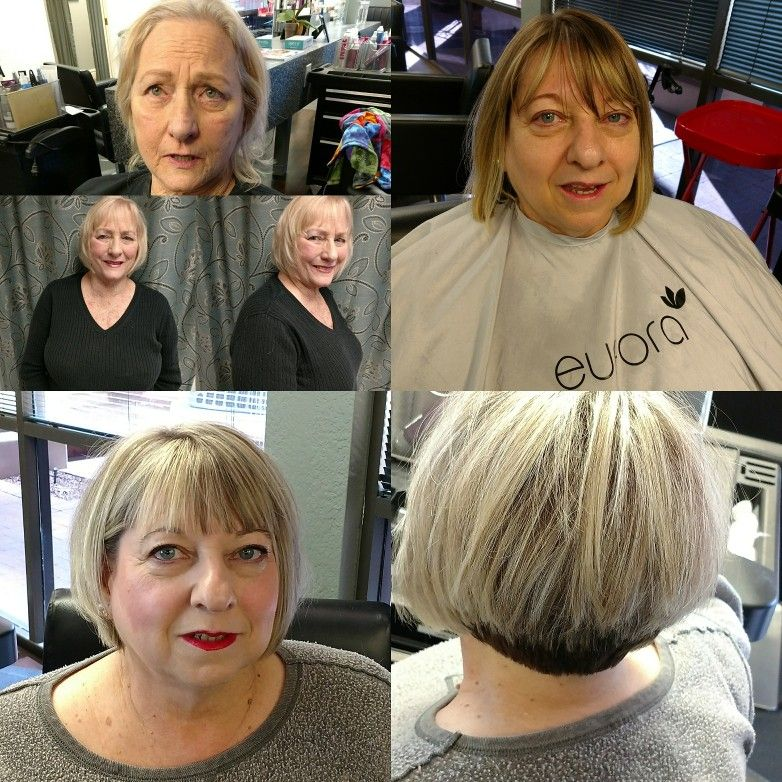 Before And After Haircut Style And Hair Color By Melony Terry Hair