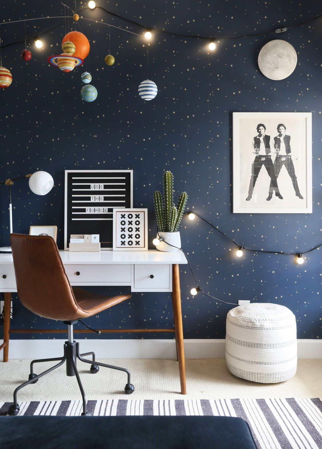 Outer Space Bedroom For A Kid Or Tween West Elm Outer Space