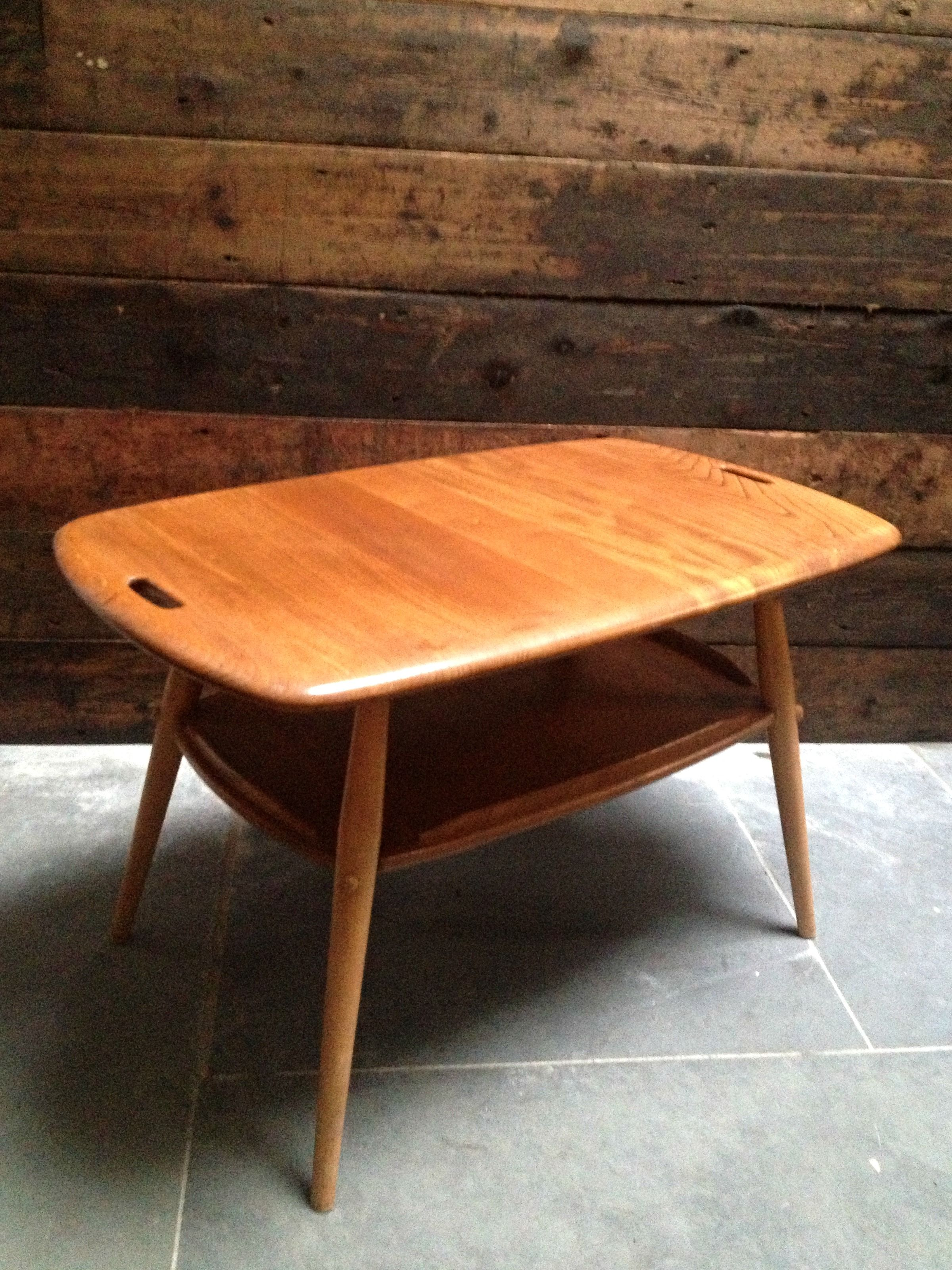 Designed By Lucian Ercolani The Ercol Two Tier Butler Table Is