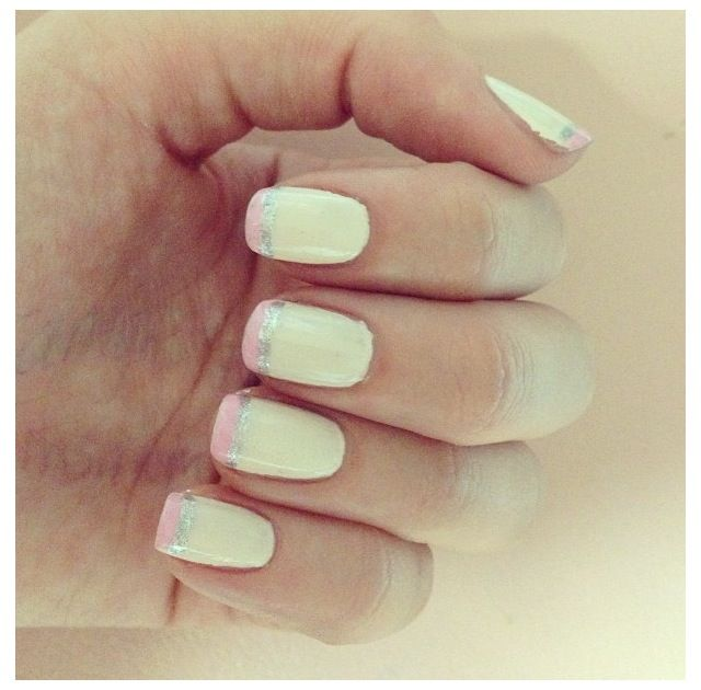 sabo skirt Love these nails!
