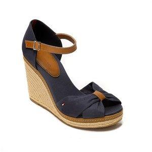 Tommy Hilfiger Peep Toe Wedge Sandals