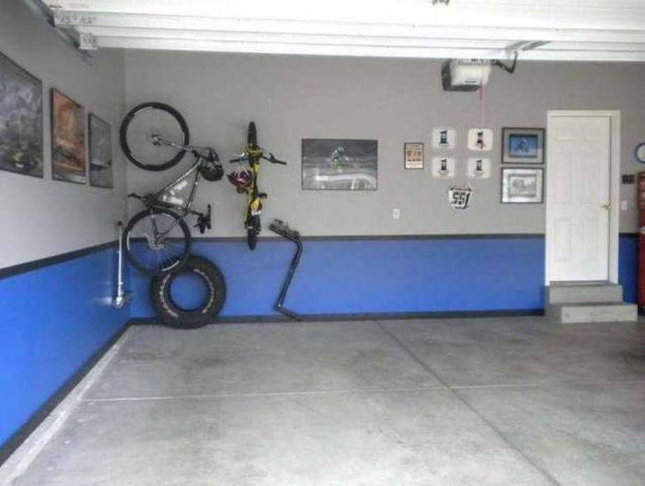 Garage Walls (top Half)