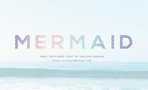 FREE Font Link | Mermaid Scale OTT, TTF | Commercial Use