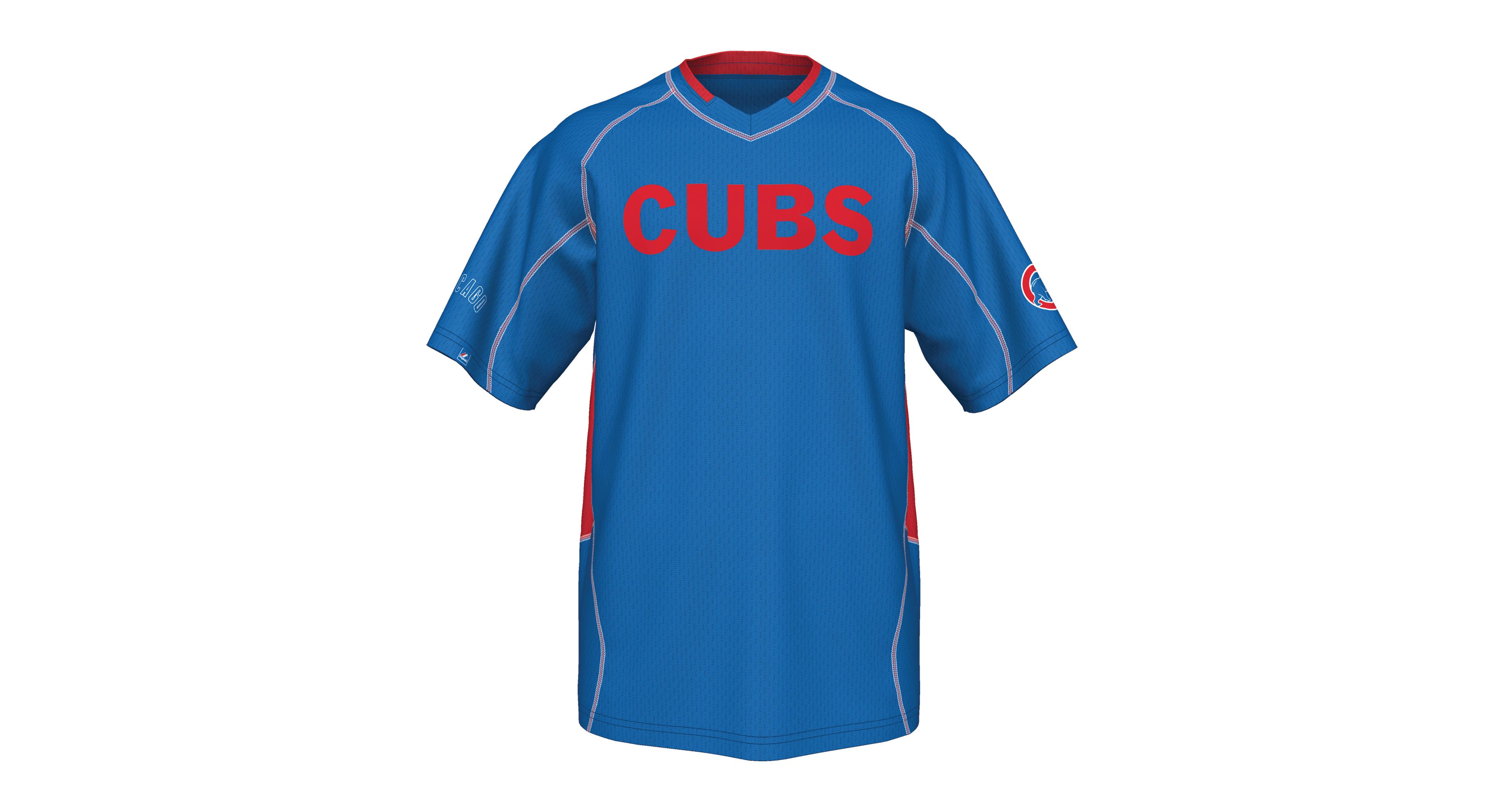 Majestic Men's Chicago Cubs Fast Action T-Shirt