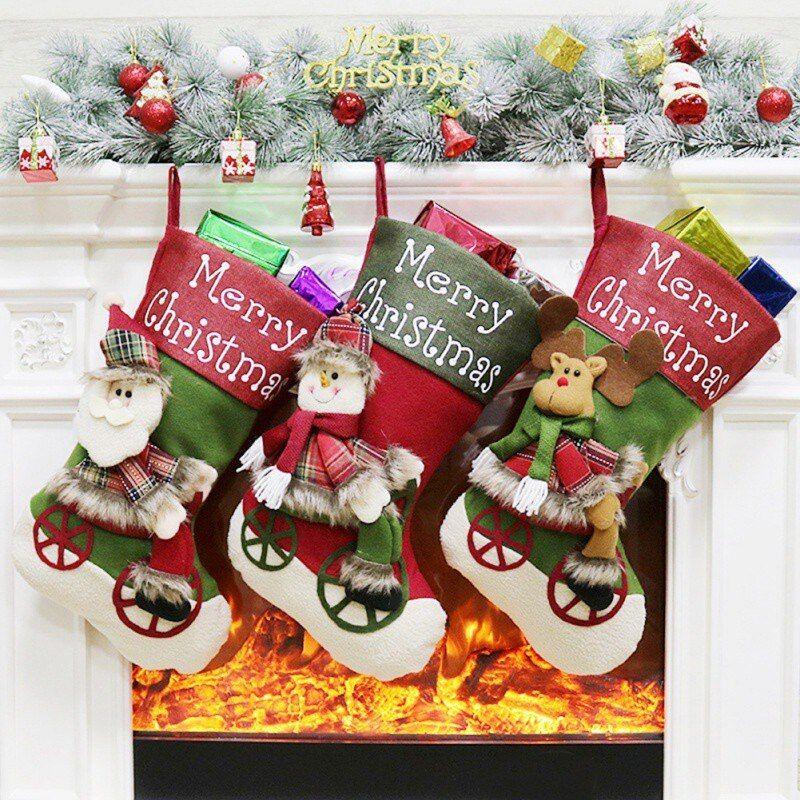 Christmas Noel Santa Doll Ornament Enjoyable Gift Holiday Collection Doll Toy Table Christmas Tree Decor Festival Present 13 inch Santa Claus Sitting Figurine