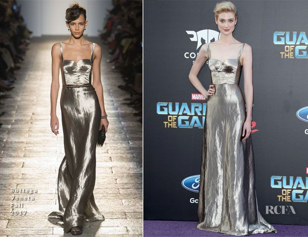 Elizabeth Debicki In Bottega Veneta Guardians Of The Galaxy Vol 2 La Premiere Red Carpet Fashion Gorgeous Dresses Fashion