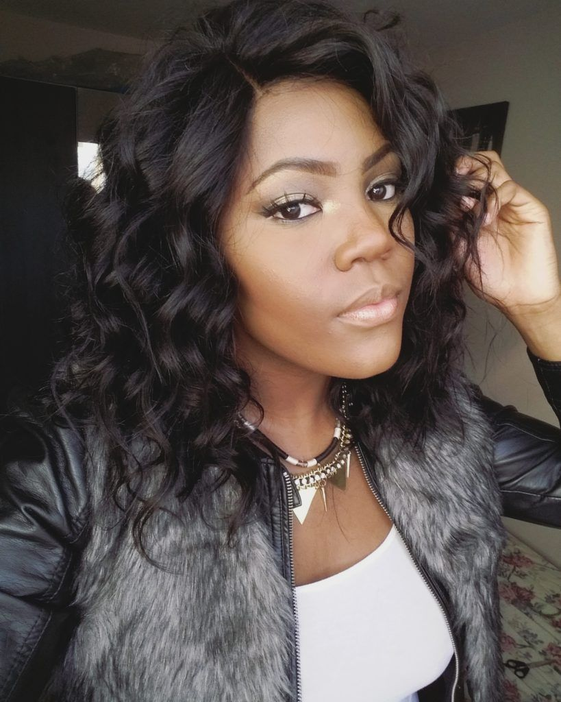 Beautiful curly wig straight weave hairstyles short sew