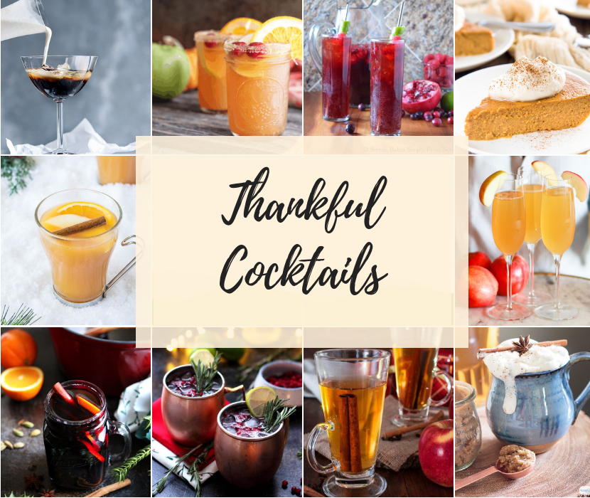 Thankful Cocktails