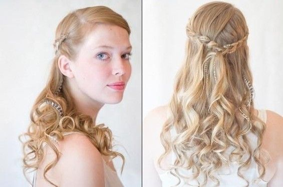 Magnificent 1000 Images About Wedding Bridesmaids Hairstyle Ideas On Hairstyle Inspiration Daily Dogsangcom