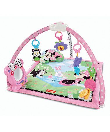 9a2b9a1e05ef Take a look at this Minnie Mouse Activity Gym by Fisher-Price on ...