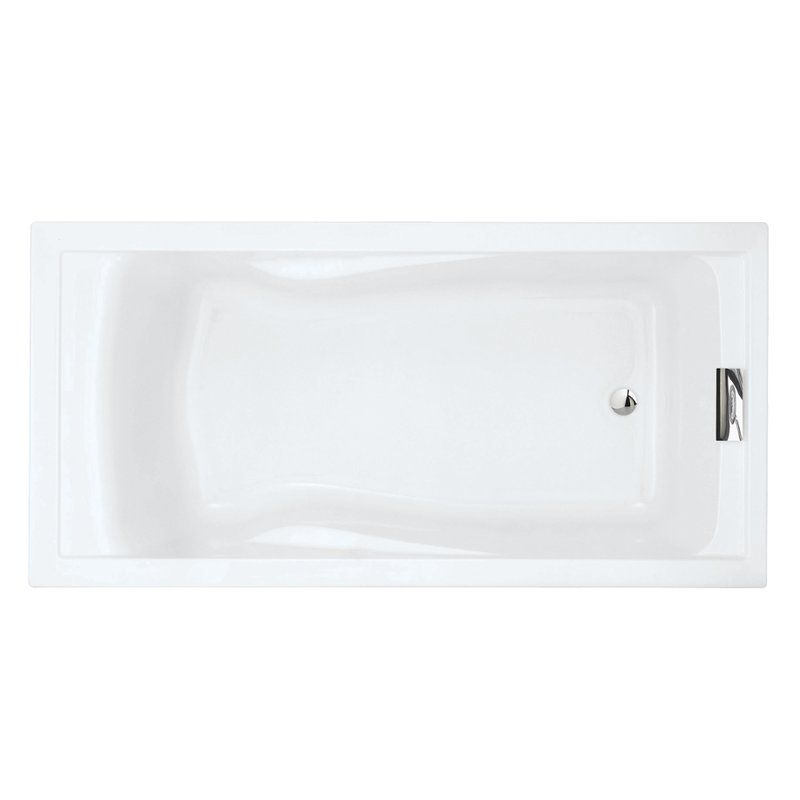 "Evolution 72"" X 36"" Deep Soaking Bathtub"