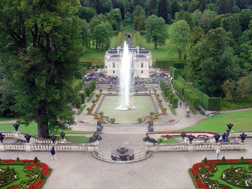 Garmisch Partenkirchen Schloss Linderhof Orangesmile Com Schloss Linderhof Linderhof Schloss