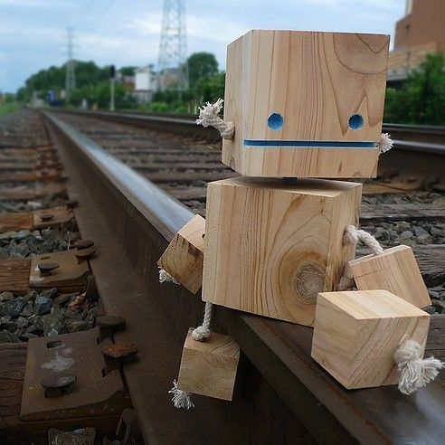 robot wood - Google Search
