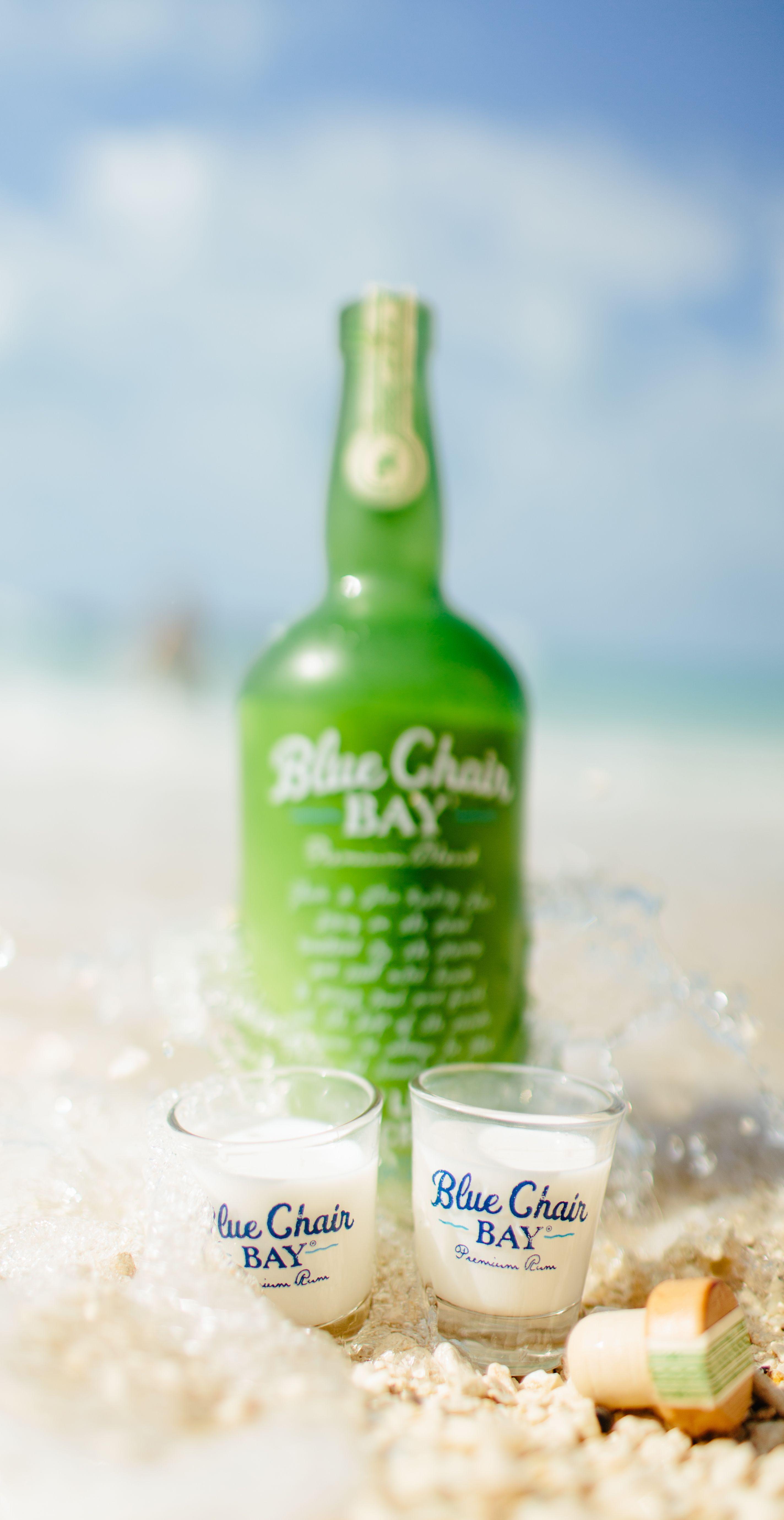 YOU AND TE KEY LA SHOT 5 oz Blue Chair Bay Key Lime Rum Cream