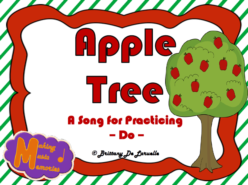 Apple Tree A Song for Do Apple tree song, Elementary