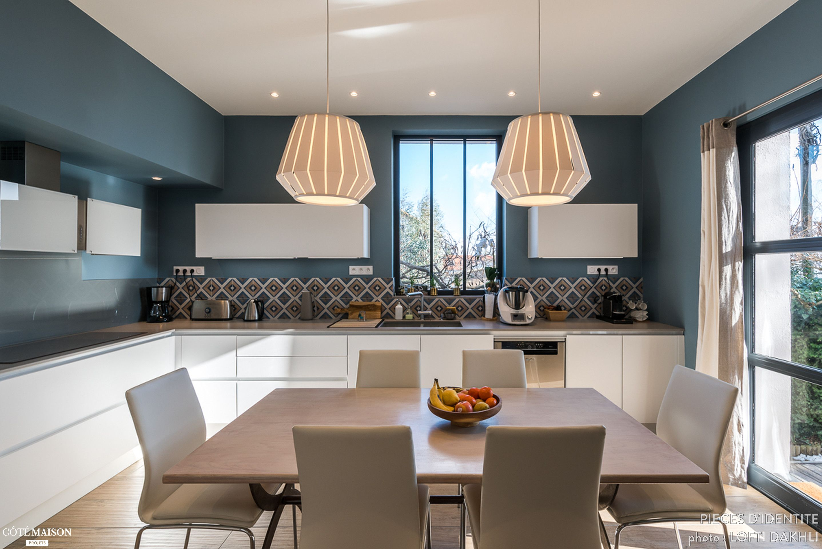 r novation cuisine contemporaine et douce dans maison bourgeoise 69300 pi ces d 39 identit. Black Bedroom Furniture Sets. Home Design Ideas