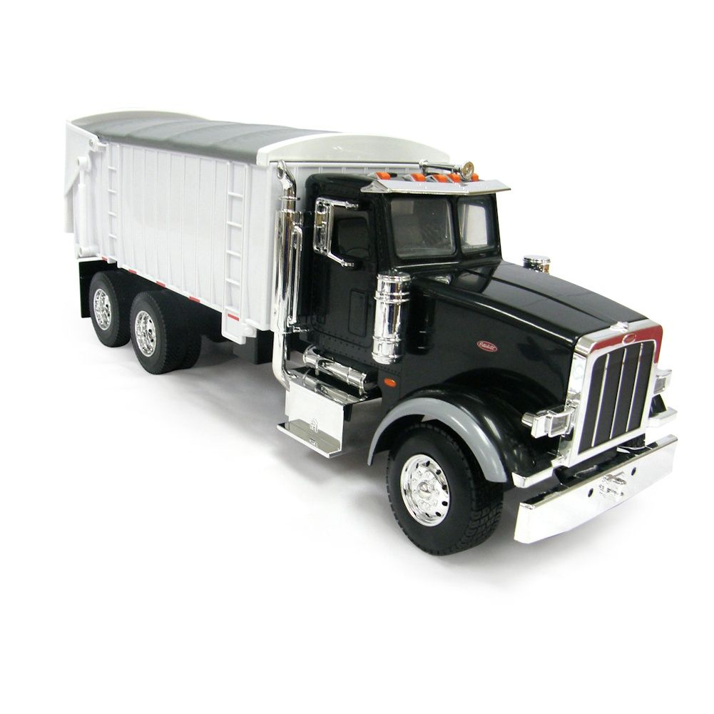 1/16th BIG FARM Peterbilt 367 Truck with Grain Box in Black Toy Toys