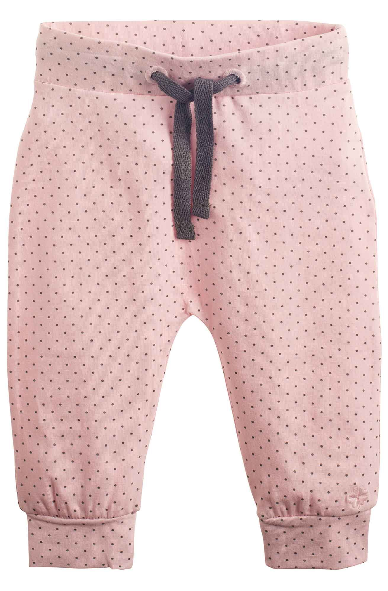 Noppies polka dot pink baby trousers newborn baby girl clothes uk