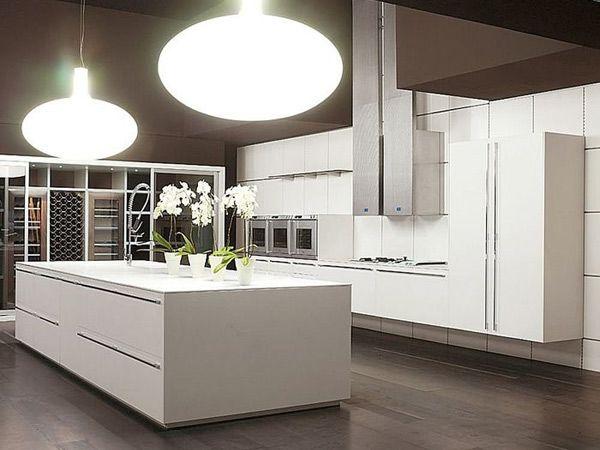 Lampadari per cucina: quando la luce diventa design ...