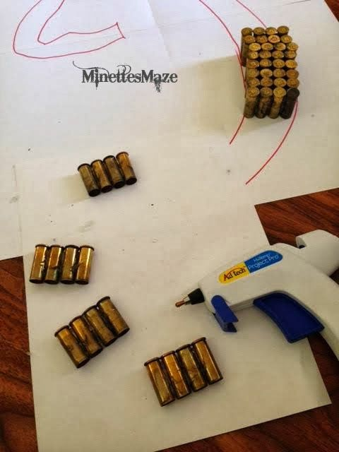 how to make fake bullet shells