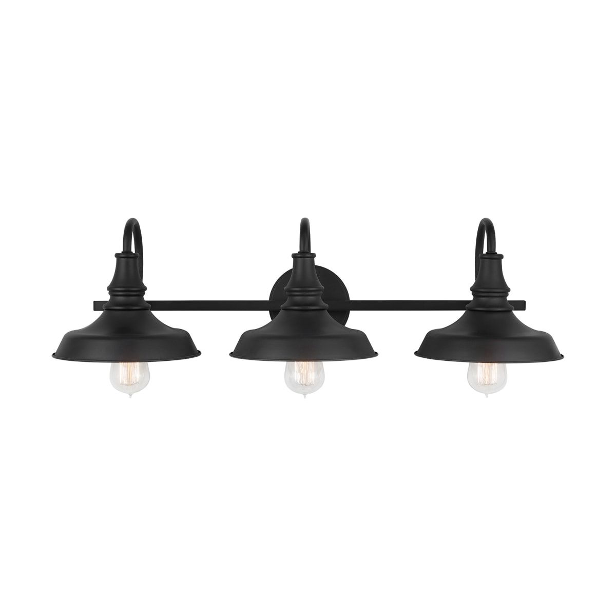 "Photo of Bellevue CA9D302A-OB Old Bronze 3 Light 29 ""Wide Bathroom Basin Light – LightingDirect.com"