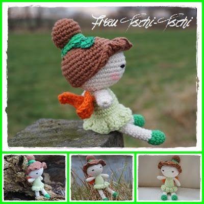 Frau Tschi-Tschi: Tinkerbell Amigurumi Freebie - crochet pattern ...