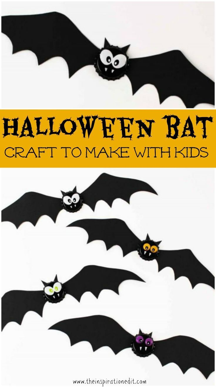 Halloween Craft Ideas For Toddlers Bat Magnet Halloween Ideas For