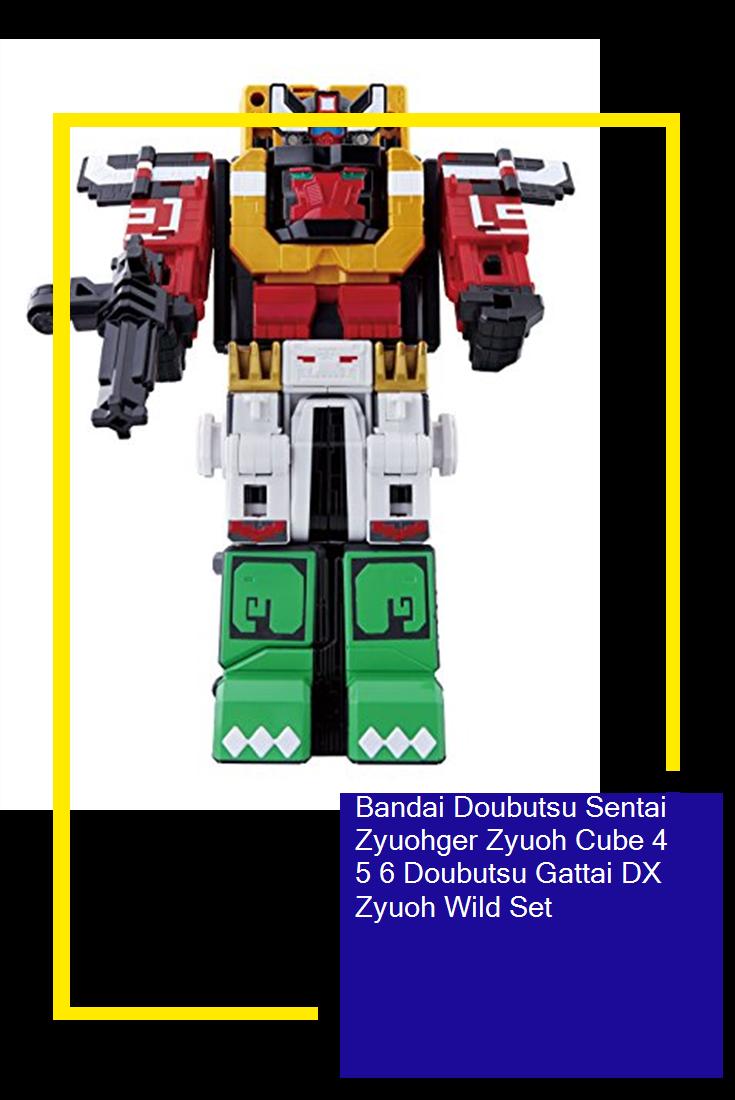 Bandai Doubutsu Sentai Zyuohger Zyuoh Cube 4 Doubutsu Gattai DX Cube Elephant