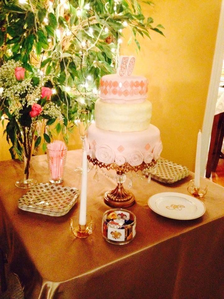 My beautiful great gatsby inspired; roaring twenties birthday cake ...