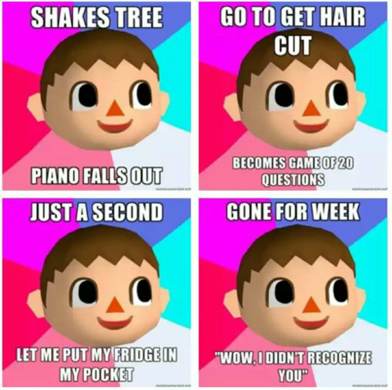 Cool Hair Styles Animal Crossing