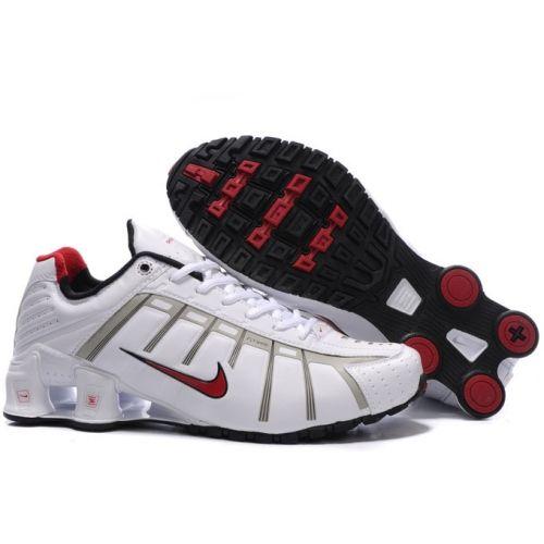 the best attitude 36086 d5e30 Nike Shox NZ 3 O Leven White Red Men Shoes Sale   79.59
