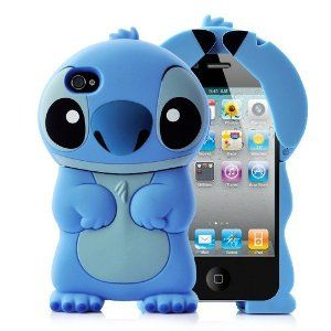 Disney Stitch Case Cover for Iphone 4/4s [If only I had an iPhone!]