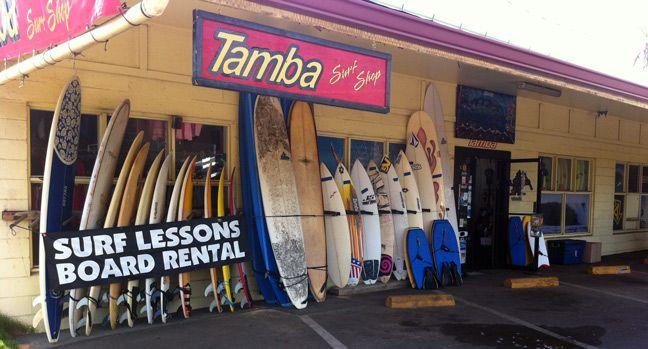 Tamba Surf Company Family Vacation Spots Kauai Surfing