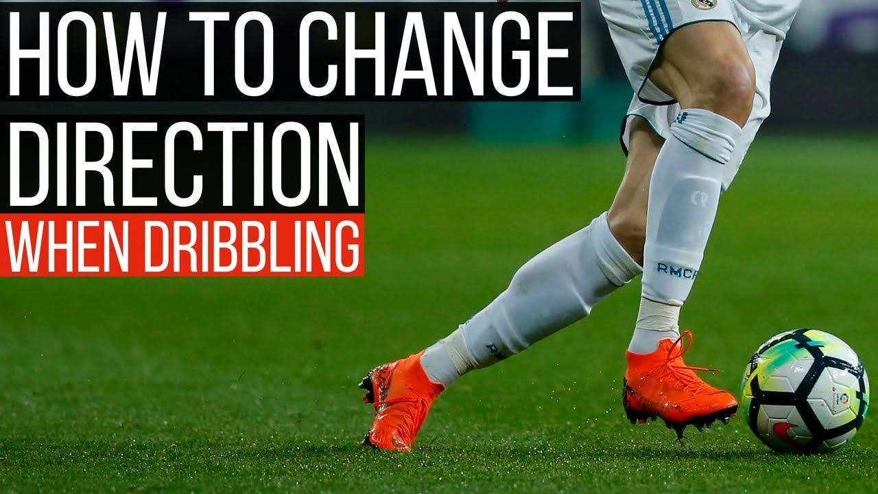 How To Change Directions In Football While Dribbling Soccer Practice Drills Soccer Player Workout Soccer Motivation