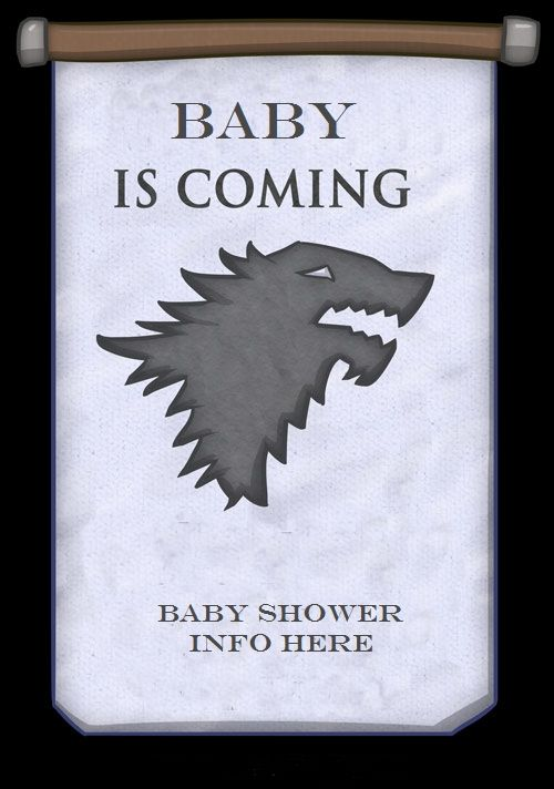 Possible baby shower invite...thanks to Belkis for the idea!