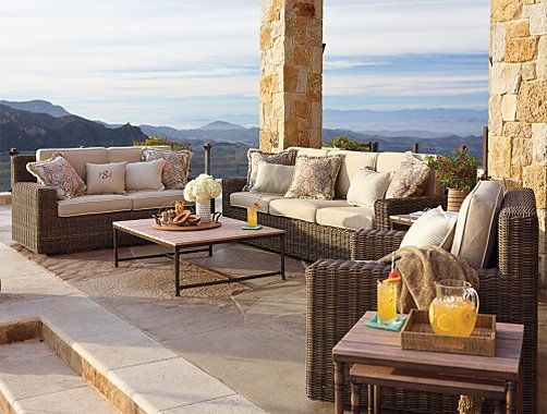 Frontgate Hyde Park Outdoor Furniture Collection Patio Furniture