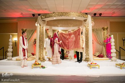 Real Wedding for Kathlynn and Nishan at The Bolger Center