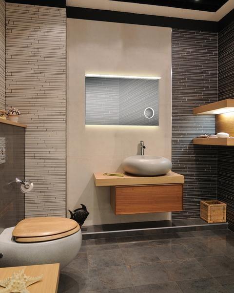 le mariage parfait dclairage pour une salle de bain le miroir rtro - Tablette Retro Salle De Bain