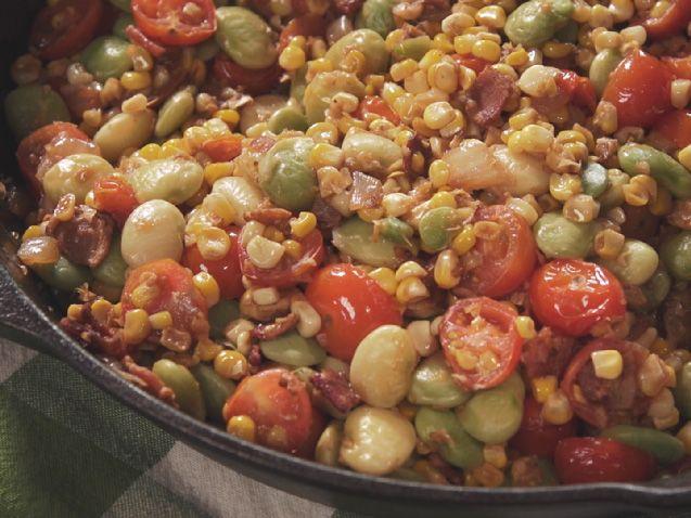 Super Simple Succotash #farmhouserulesrecipes