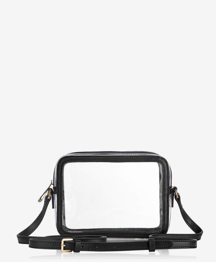 da9f4f01fda85 Collins Crossbody Clear Bag with Black Vachetta Trim in 2019 ...