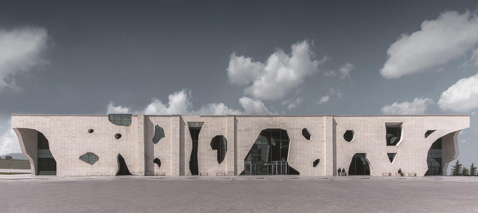 Galeria de Terminal de Ônibus Nevsehir / Bahadir Kul Architects - 1
