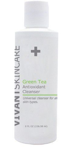 Buy Green Tea Antioxidant Cleanser 8oz By Vivant Skin Care 29 50 A Universal Face And Body Cleanser Fortified Face Products Skincare Body Cleanser Skin Care