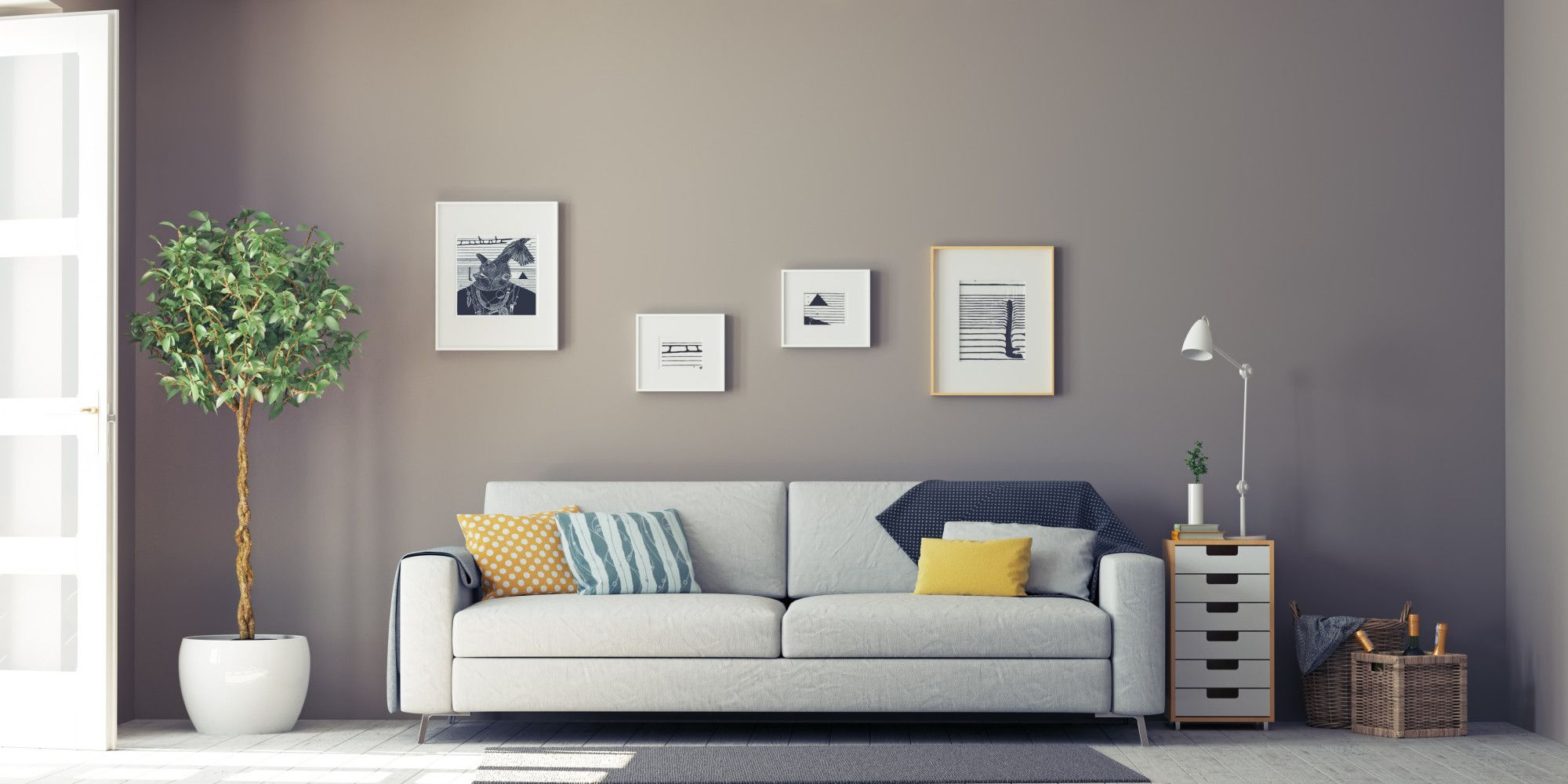 Bring life to your living space, add a burst of colours to your ...
