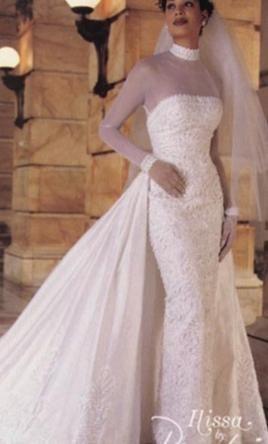 Abiti Da Sposa Anni 8090.Demetrios Ilissa Wedding Dress New Size 14 500 Abiti Da