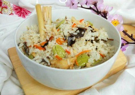 Nasi Liwet Kampung Recipe Nasi Liwet Bubur Ayam Recipe Food