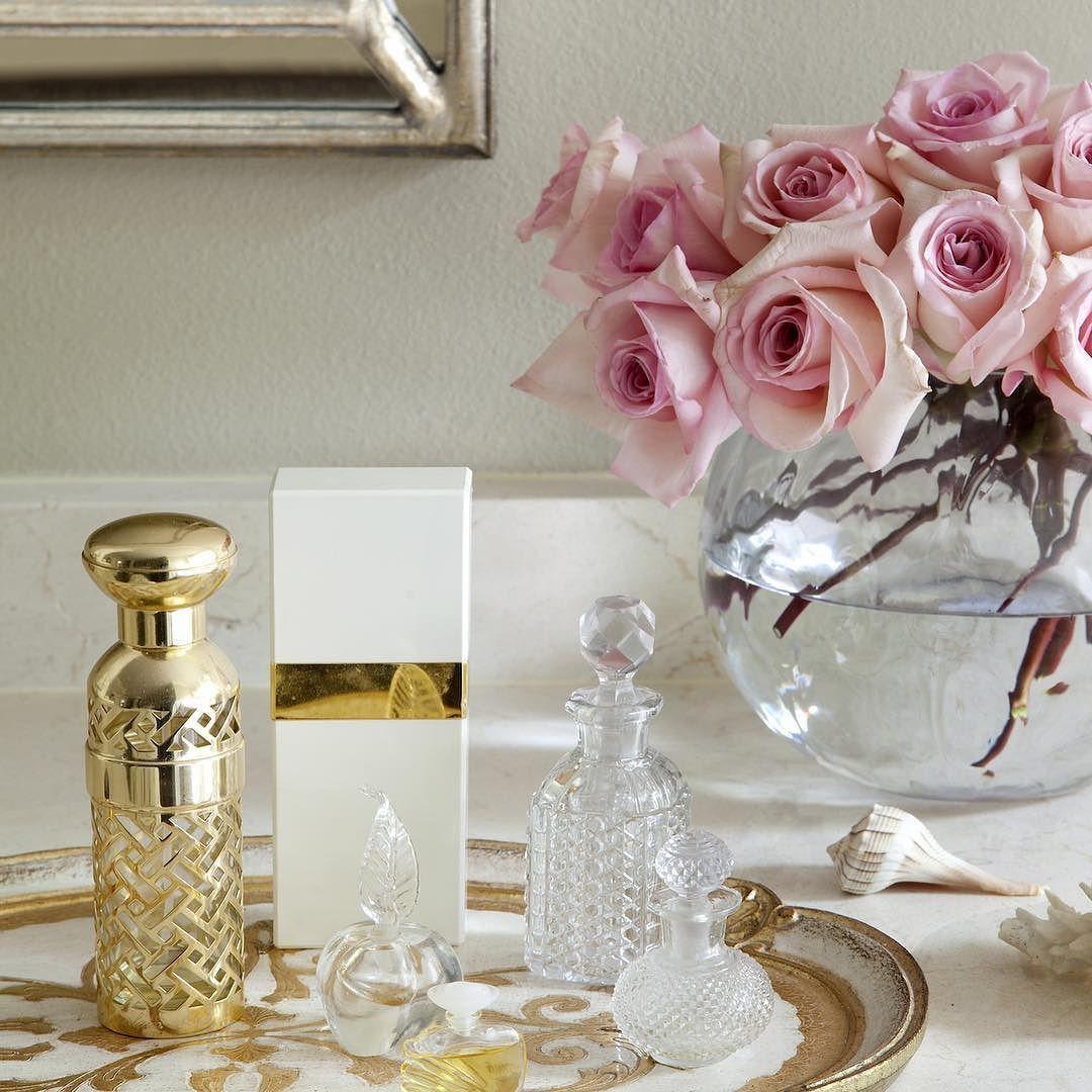 Perfectly styled vanity by meridith hamilton via athomearkansas