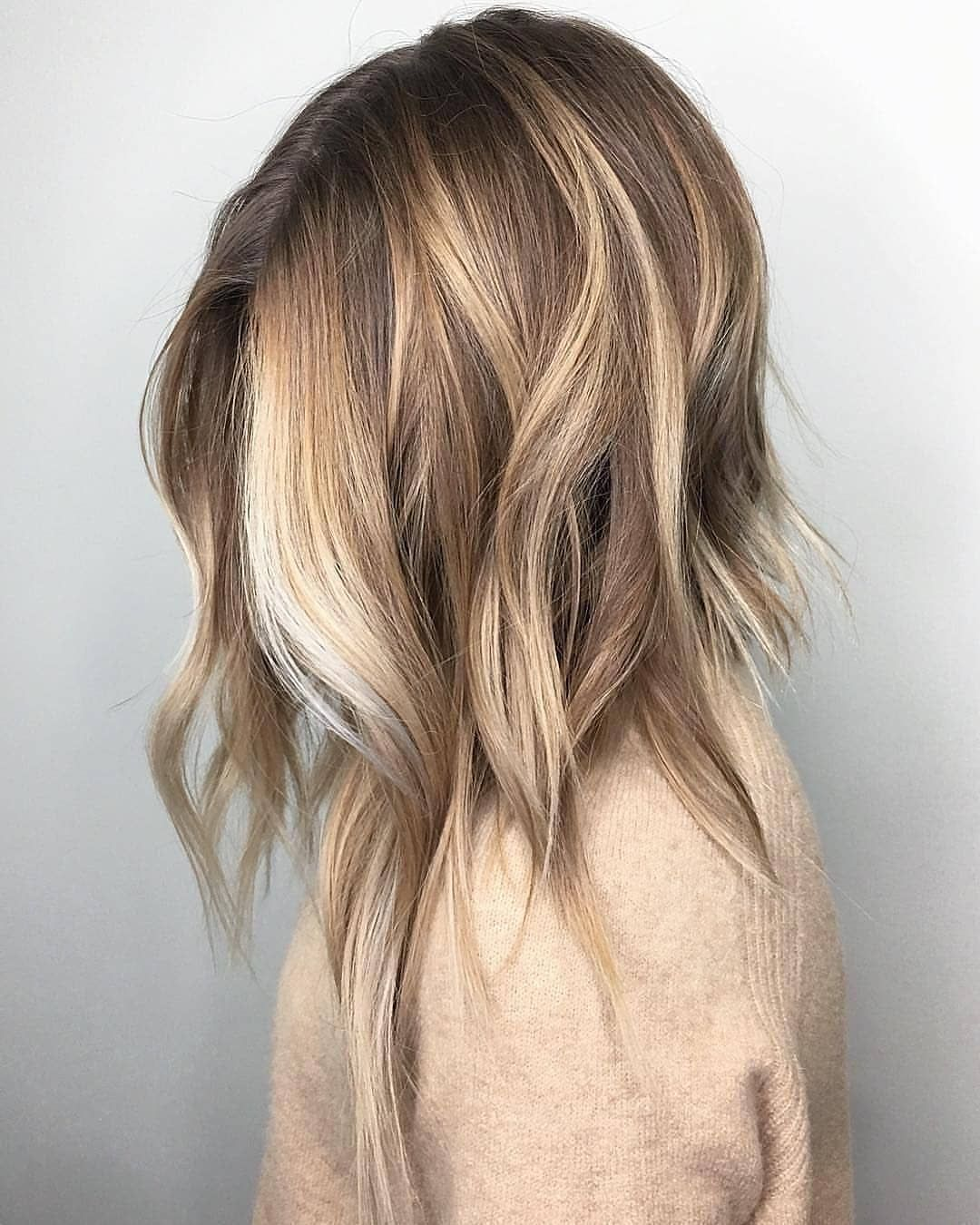 10 Medium To Long Hairstyles In Exciting Blonde Colors Women